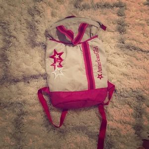 Other - American girl backpack 💗💗💗
